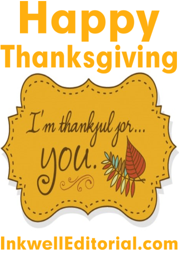 The Freelance Writer's Thanksgiving Prayer by InkwellEditorial.com