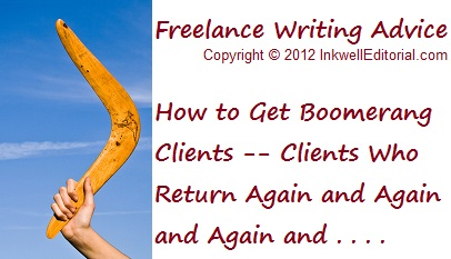 Freelance Writing Advice on How to Cultivate Repeat Clients