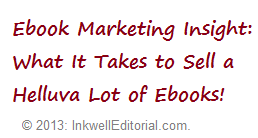 Ebook Marketing Tips for Aspiring Self-Publishers