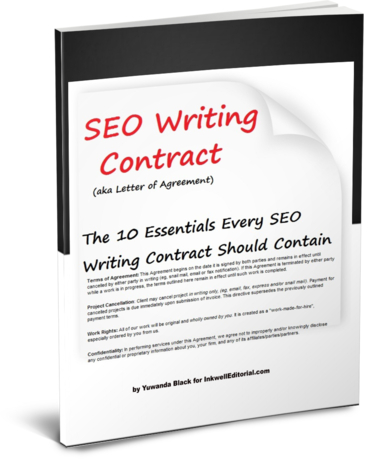 SEO Writing Contract Ebook
