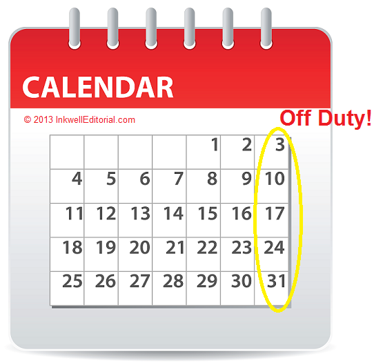 Freelance Business Advice on Scheduling Time Off