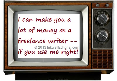 Freelance Writer Marketing Tip: How to Use TV to Inspire You & Spark Content Ideas