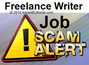 How to Spot -- and Avoid -- Freelance Writing Job Scams