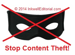 Stop Content Theft Tips