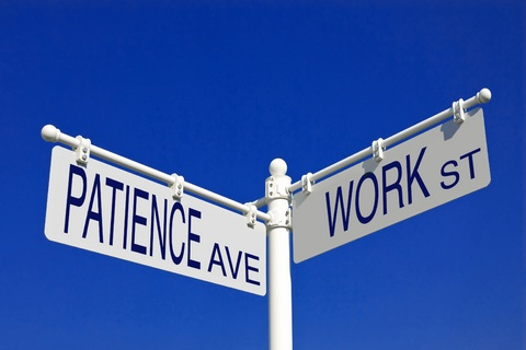 Do you have the patience it takes to build a successful freelance writing career?