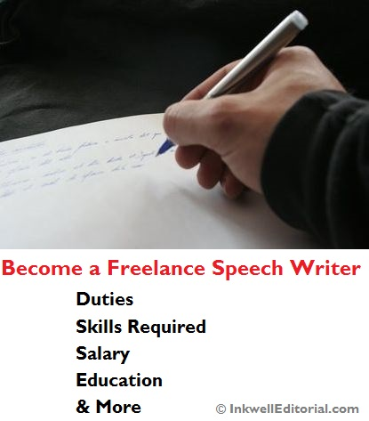 How to Become a Freelance Speech Writer