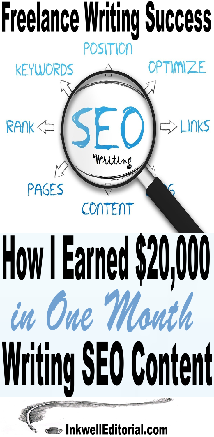 SEO Copywriting: How One Freelancer Earned $20,000 in One Month