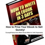 Sell Your Ebook: How to Price It So You Start Getting Sales Quickly!