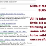 Niche Marketing Advice: How to Find Hundreds of Prospects to Contact for Freelance Writing Jobs in a Specific Niche