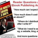Writing Ebooks and Selling Them Online: What Kind of Profit to Expect & Other Questions About Self-Publishing Answered