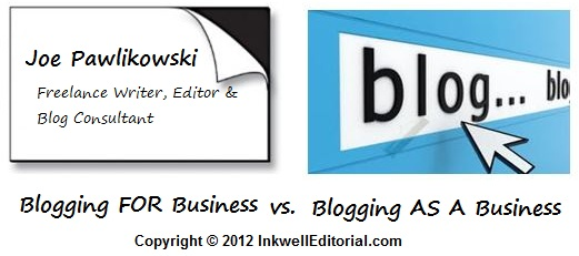 Building a Blog: Business vs Business Card