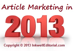 Article Marketing Insight for 2013