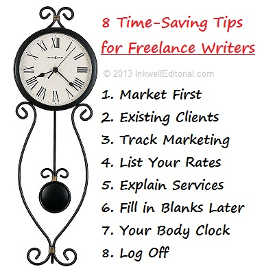 Time-Saving Tips for Freelance Writers That Lead to Greater Earnings