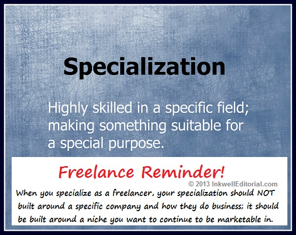 Advice for Freelancers on Specializing