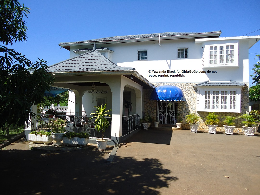 Main House in Compound Where I Reside