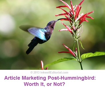 How to Market with Articles Post Google Hummingbird Update