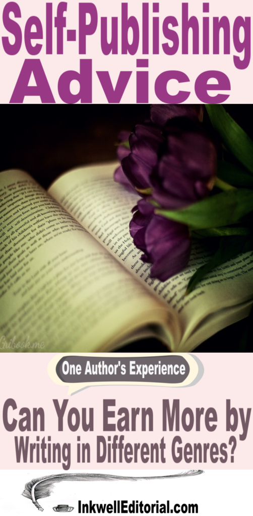 Self-Publishing Advice: Can You Earn More by Publishing in Different Genres