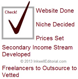 Business Tip for Freelance Writers