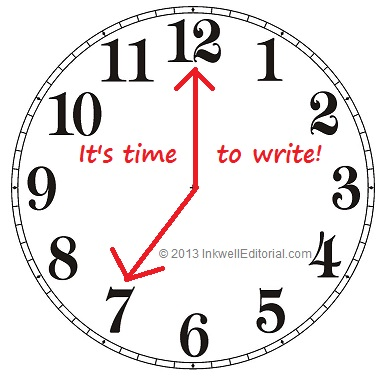 Self-Published Authors: How to Find Time to Write