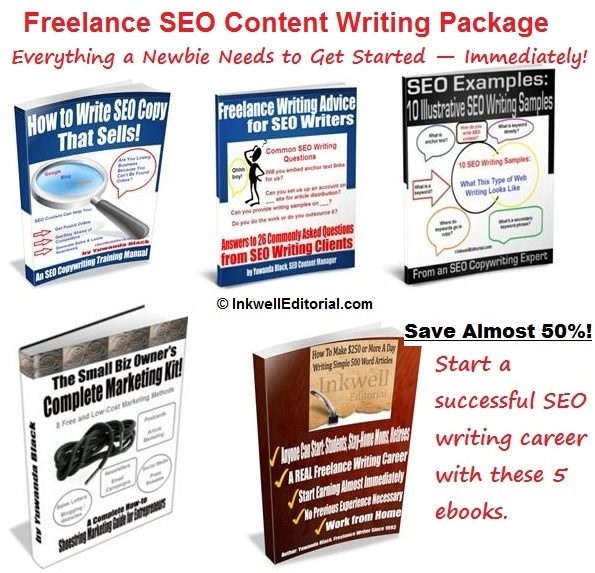 Freelance SEO Content Writing Package