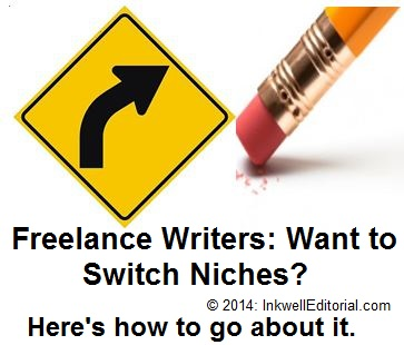 Advice on How to Effectively Switch Niches as a Freelance Writer
