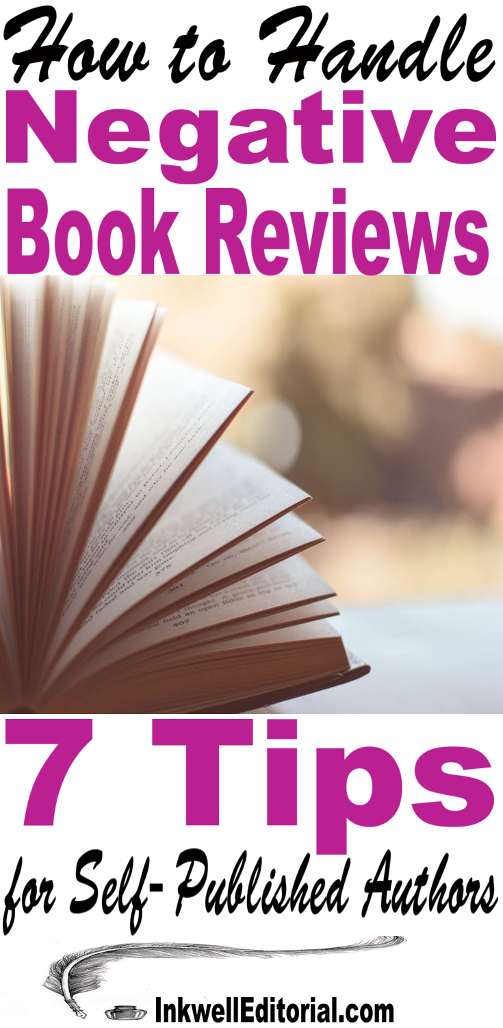 How to Handle Bad Book Reviews: 7 Tips for Self-Published Authors
