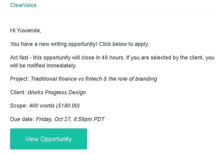 Want job leads like this in your inbox? Get trained to write SEO content today!