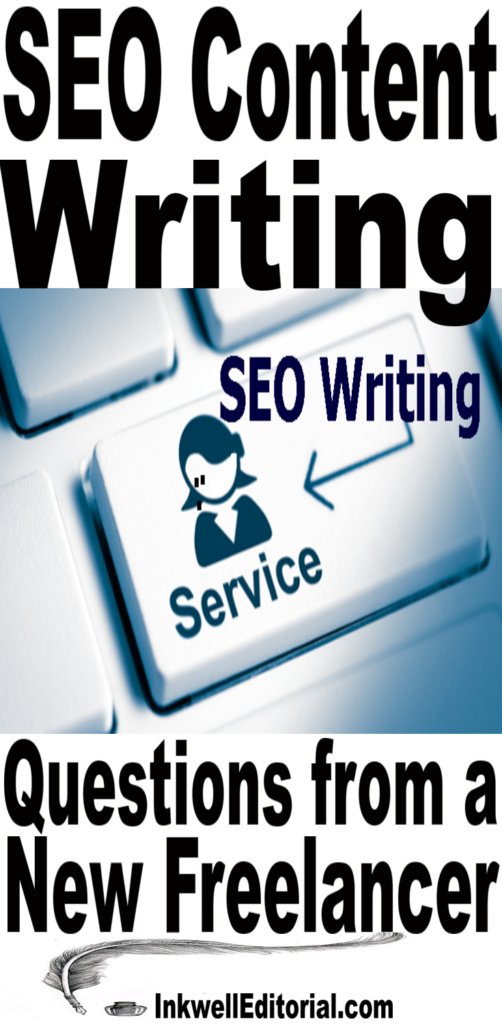 SEO Content Writing: Questions from a Newbie