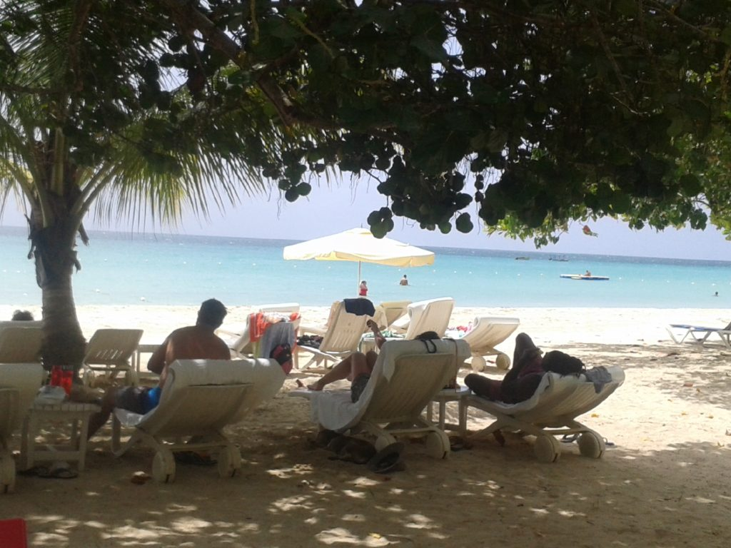 A Day at the Beach in Jamaica