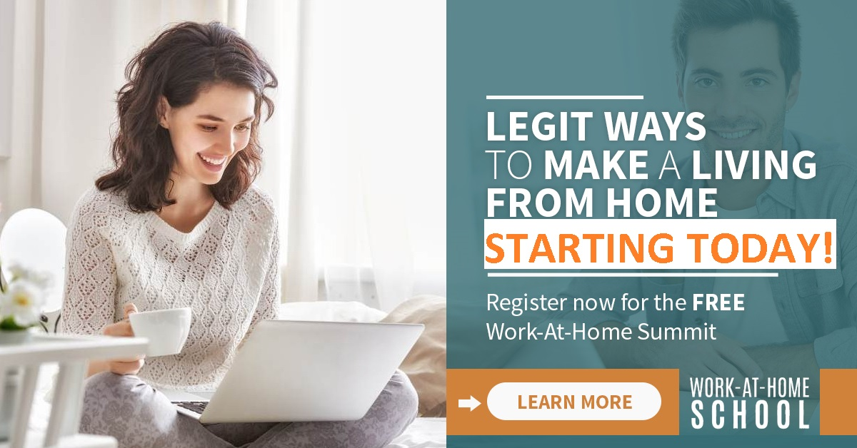 Legit Ways to Make Money From Home: No Scams, No Surveys, No Selling to Friends & Family -- Free Training